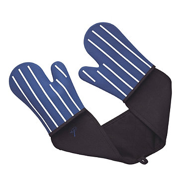 Butcher's Stripe Double Oven Glove