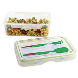 Push & Push Lunch Box