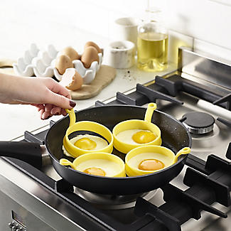 2 Silicone Fried Egg Round Cooking Rings alt image 3
