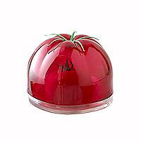 Lebensmittelbehälter in Tomatenform