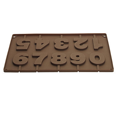 Choco-Numbers Silicone Mould