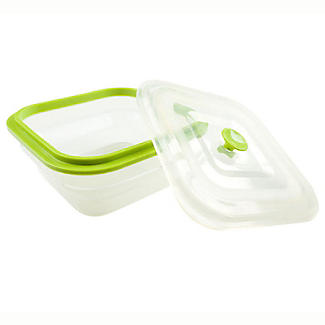 1 Litre Square Store and More Container alt image 2