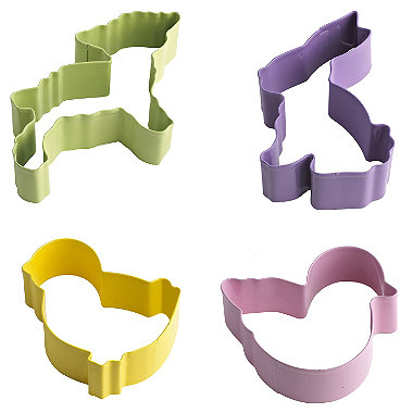 5 Easter Cookie Cutters
