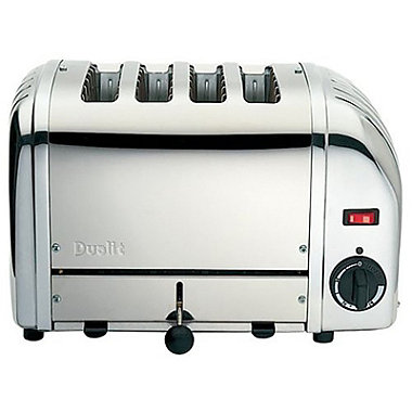 Dualit® 4-Slot Polished Toaster