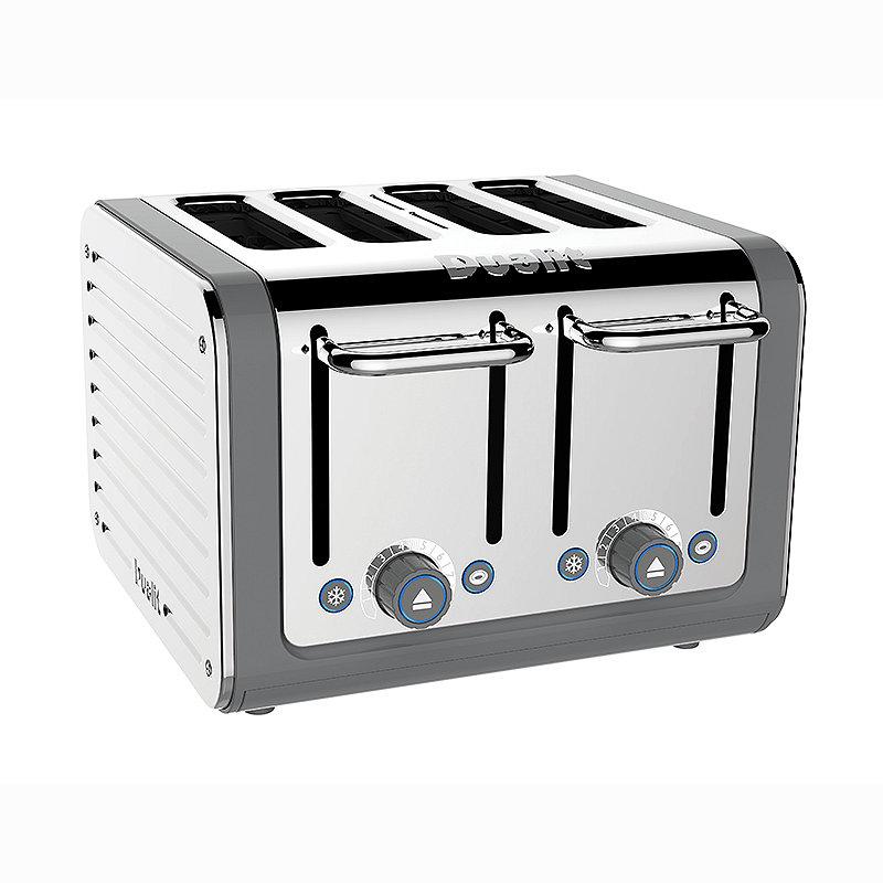 Dualit Architect 4 Slice Toaster 46526 alt image 2. Dualit 4 Slice Architect Toaster Grey 46526