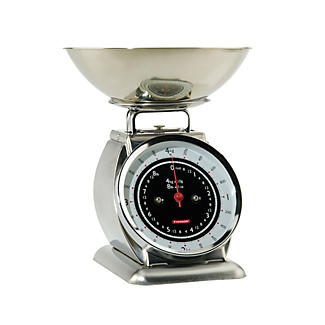 Typhoon® Bella Stainless Steel Mechanical Kitchen Weighing Scales