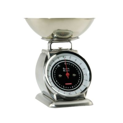 Typhoon&174 Bella Stainless Steel Mechanical Kitchen Weighing Scales