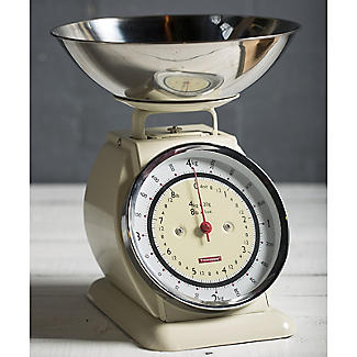 Typhoon® Bella Cream Mechanical Kitchen Weighing Scales alt image 2