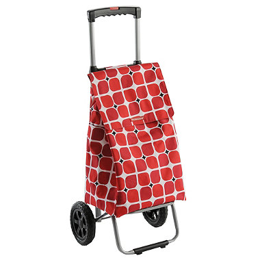 Typhoon® Poppy Square Retractable Handle Trolley
