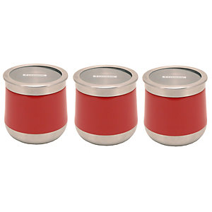 Typhoon® Novo 3 Piece Storage Set Red