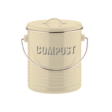 Typhoon® Vintage Kitchen Cream Compost Caddy