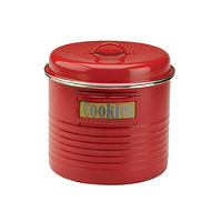 Typhoon® Vintage Kitchen Red Large Storage Canister