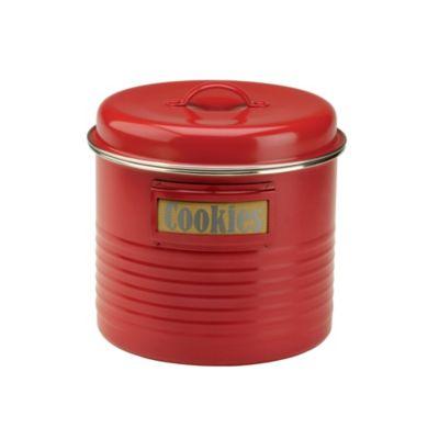 Typhoon&174 Vintage Kitchen Red Large Storage Canister