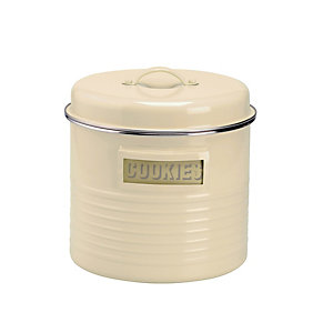 Typhoon® Vintage Kitchen Cream Large Storage Canister