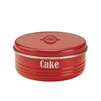 Typhoon® Vintage Kitchen Red Cake Tin