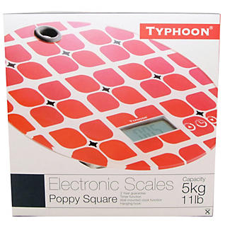 Typhoon® Poppy Square Electronic Scale alt image 2