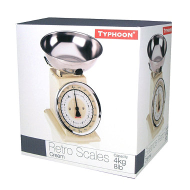 Typhoon® Cream Retro Scale
