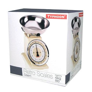 Typhoon® Cream Retro Scale