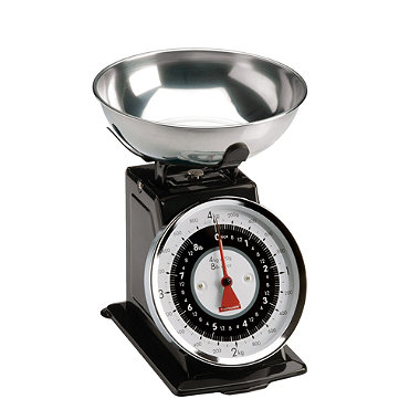 Typhoon® Black Retro Scale