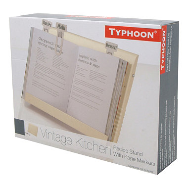 Typhoon® Vintage Kitchen Cream Recipe Book Holder