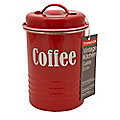 Typhoon® Vintage Kitchen Red Coffee Canister