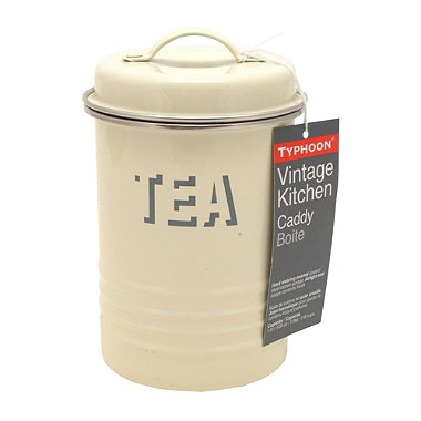 Typhoon® Vintage Kitchen Cream Tea Canister