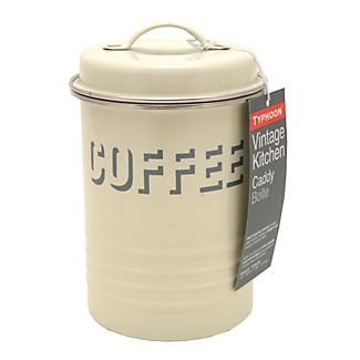 Typhoon® Vintage Kitchen Cream Coffee Canister