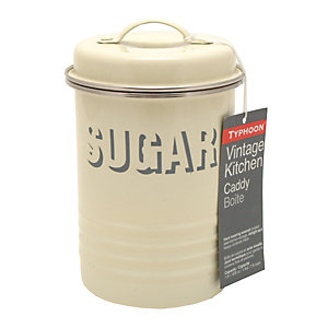 Typhoon® Vintage Kitchen Cream Sugar Canister