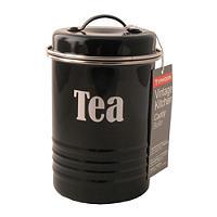 Typhoon® Vintage Kitchen Black Tea Canister
