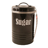 Typhoon® Vintage Kitchen Black Sugar Canister