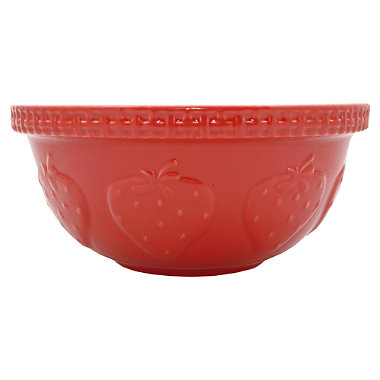 Mason Cash Strawberry Red Mixing Bowl 4.3L