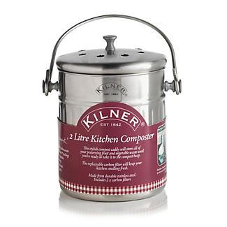 Kilner® Composter Food Compost Bin - 2L alt image 1