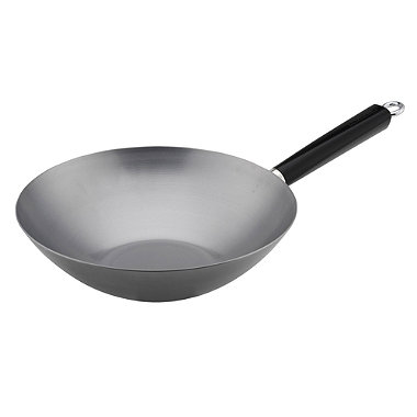 "Typhoon® 12"" Carbon Steel Professional Wok"