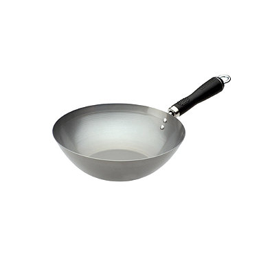 "Typhoon® 10.5"" Carbon Steel Signature Wok"