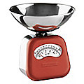 Typhoon® Novo Red Mechanical Kitchen Weighing Scales