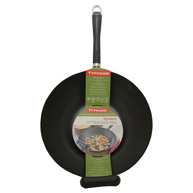 "Typhoon® 14"" Non-Stick Signature Wok"