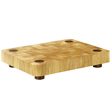 Typhoon® Rectangular Butcher's Block