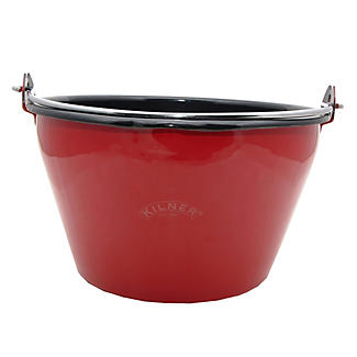 Kilner® Red Enamel Maslin Jam Making Pan &