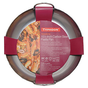 Typhoon® Carbon Steel Paella Pan