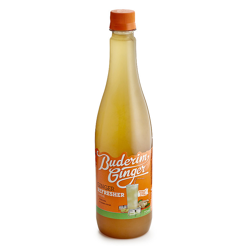 Buderim Ginger Refresher Ginger Beer Concentrate 750ml