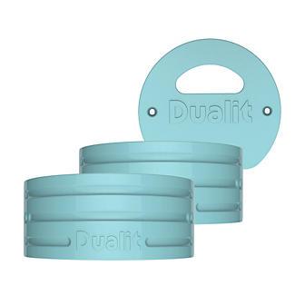 Dualit Architect Wasserkessel Seitenteile-Set, azurblau