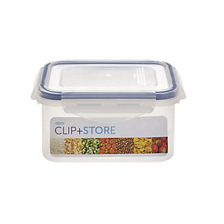 Lakeland Clip and Store 480ml Rectangular Container