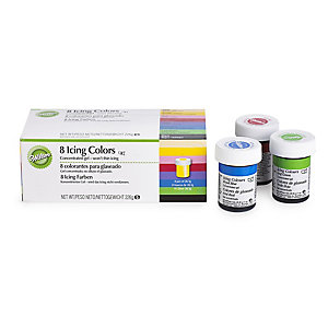 8 Wilton® Icing Colours