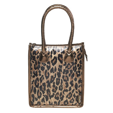 Leopard Print Lunch Tote In Coolbags And Lunchboxes And