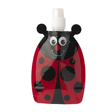 Ladybird Fold Up Water Bottle In Coolbags And Lunchboxes