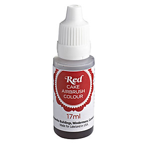 Cake Airbrush Spray Food Colour - Red
