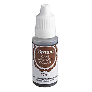 Cake Airbrush Spray Food Colour - Brown