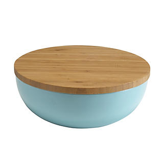 salatsch ssel mit deckel himmelblau lakeland de. Black Bedroom Furniture Sets. Home Design Ideas