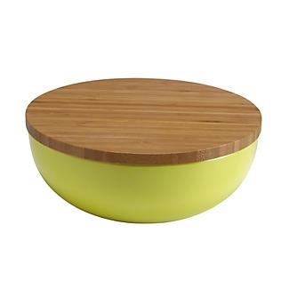 servier salatsch ssel aus melamin mit deckel lindgr n lakeland de. Black Bedroom Furniture Sets. Home Design Ideas
