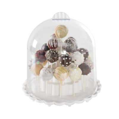 Cake Pop Stand With Cover In Cake Stands At Lakeland